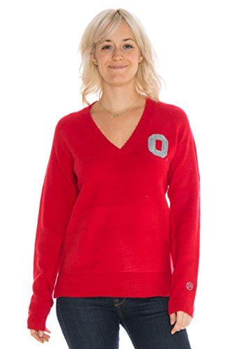 NCAA Ohio State Buckeyes Women's Wool Blend Sweater, for sale  Delivered anywhere in USA