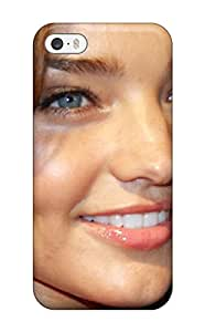 Hot Snap-on Miranda Kerr Hard Cover Case/ Protective Case For Iphone 5/5s(3D PC Soft Case)