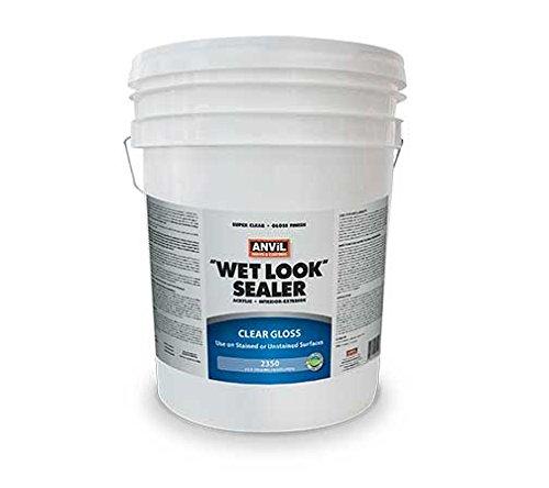 Anvil Aqua Seal Waterproofer Bonding Primer Acrylic Clear Penetrating Sealer - 5 (Anvil Block)