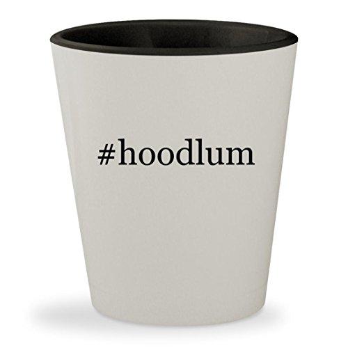 #hoodlum - Hashtag White Outer & Black Inner Ceramic 1.5oz Shot - Sunglasses Hoodlum