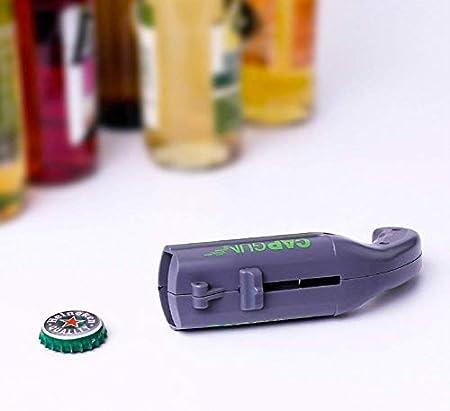 SEALEN 2 Pcs Abridor de Botellas de Cerveza, Cap Lanzador Disparo Shooter Abrebotellas, Herramienta de Apertura de Bebidas para Inicio Bar Fiesta Beber