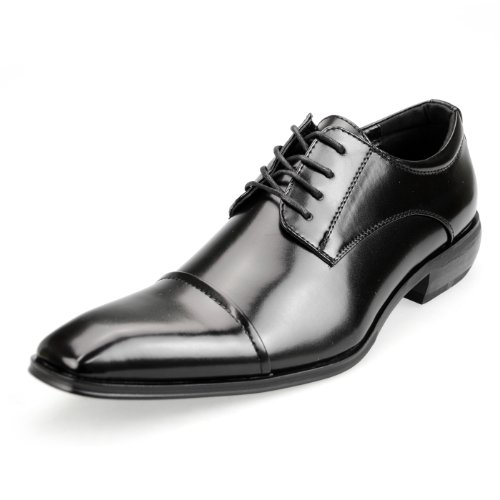 Mm / One Heren Veterschoenen Oxford Derby Schoenen Intorechato Collectie Mpt153-1-kg Zwart