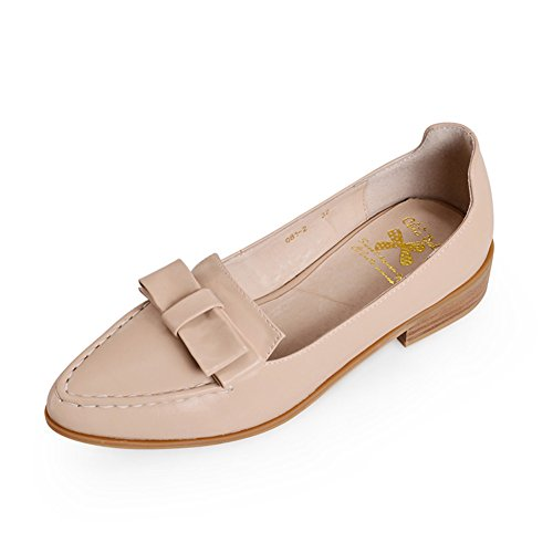 Mujer Moda A puntiagudos Primavera Zapatos neutral 4pnwvq0tpr