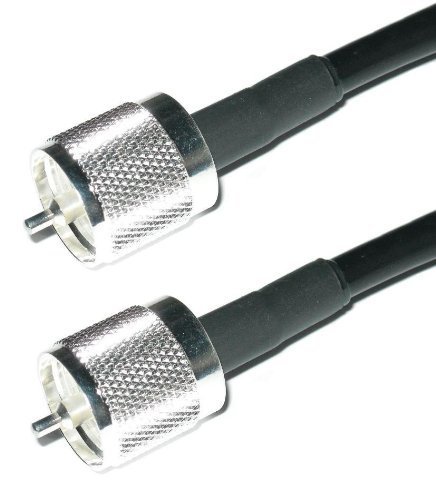 US Made PL259 UHF Male Jumper - Andrew Commscope CNT-240 Coaxial Cable | Ham