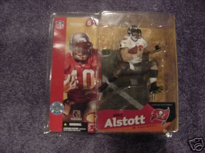 new products fa875 91d59 Mike Alstott #40 Tampa Bay Buccaneers White Jersey Chase Alternate Variant  McFarlane NFL Series 6 Action Figure