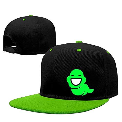 6222d8514 Ligter Homestuck Memories Hiphop Baseball Cap Hat KellyGreen