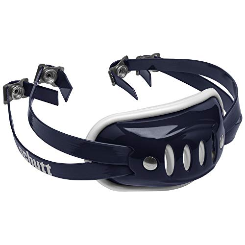 Schutt Sports SC-4 Hard Cup Chinstrap for Football Helmet, Navy Blue, Varsity