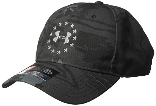 Under Armour Men's Freedom 2.0 Cap, Ua Blackout Camo (998)/Graphite, One Size