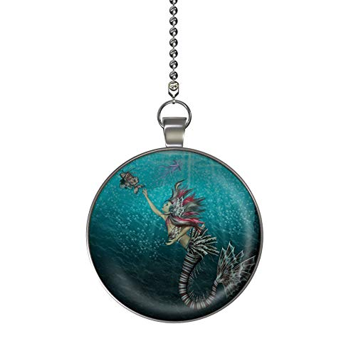 Mermaid Pendant Light in US - 1