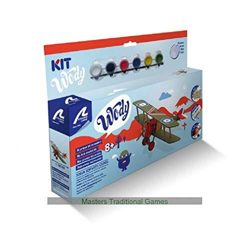 Artesania Latina Junior Wody Wood Model Kit - Sopwith Camel Plane ()