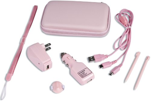 (DS/DSi Supreme 8 in 1 Accessory Kit - Pink)