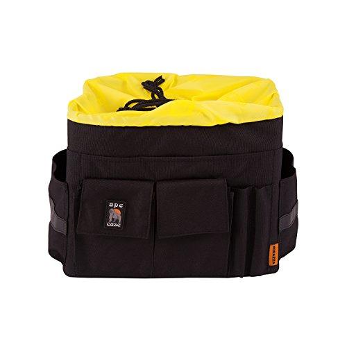 Semi Flight Case - Ape Case Cubeze Pro 47, Camera Insert, Black / Yellow, Interior Case For Cameras (ACQB47)