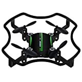 Dreamyth F19 Mini Drone Aititude Hold Smart Voice Quadcopter 2.4G 4CH 6AXIS RC Helicopter (Green)