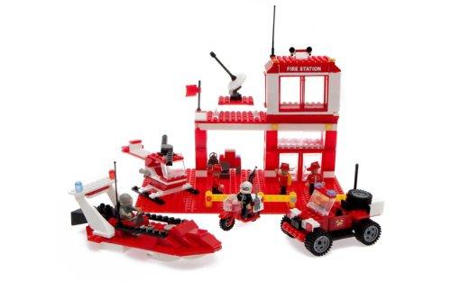 Лего Best-Lock Construction Toys Fire Rescue