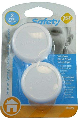 Safety 1st 222 White Blind Cord Wind Ups 2 Count