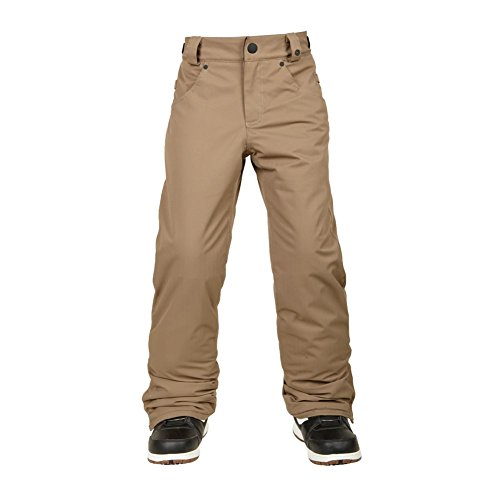 686 Boy's Prospect Insulated Pant, Large, Tobacco