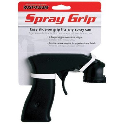 Rust-Oleum 243546 6 Pack High Performance Spray Grip, Black