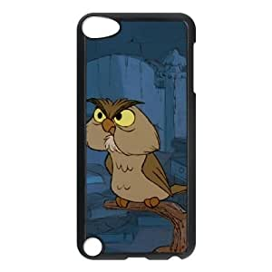 iPod Touch 5 Case Black The Sword in the Stone Character Archimedes Movie Phone Cover XPDSUNTR11919