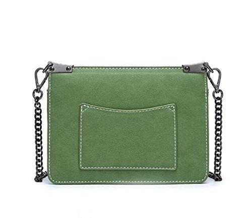 Fête Chaîne Mme Petit De Bandoulière Sac Contraste Simple De La De Sac Mode Sac Sac Bag Body à Green Cross UpBqU