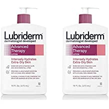 Lubriderm Advanced Therapy Lotion, For Extra Dry Skin, 16 fl. Oz (Pack of 2)