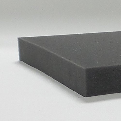 Tough Gun Case Foam - 12 x 18 x 1.5 inch Flat ()