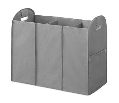 Whitmor Accordion Sorter, Savvy Gray