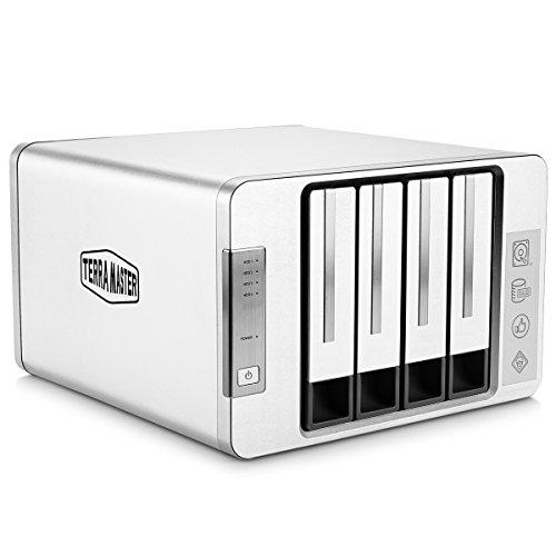 TerraMaster USB 3.1 Typ-C SUPERSPEED+Externe Festplattengehäuse RAID JBODRAID 0RAID 1Single (Diskless)