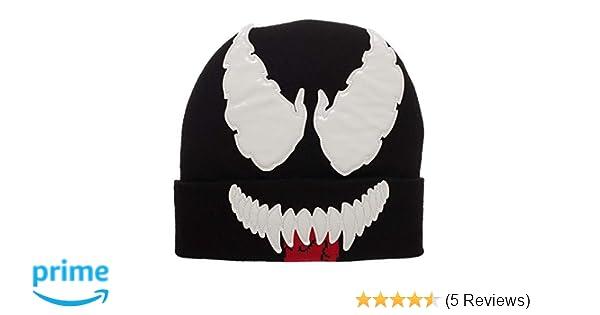 c121b08dcf2 Amazon.com  Venom Face Beanie Hat Cap  Clothing
