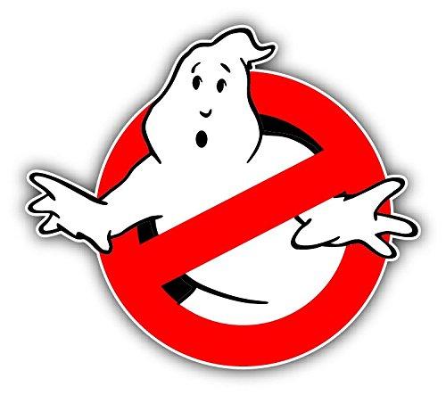 Ghostbusters Logo Cartoon Car Bumper Sticker Decal 5' X 4' Paradice