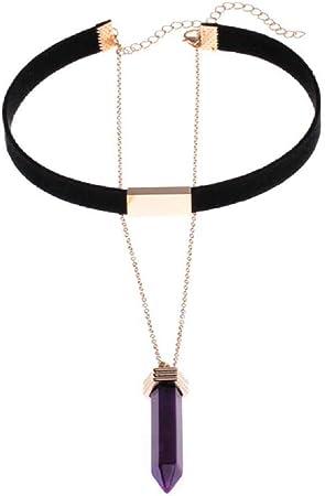 Women Bling Wrap Necklace Drop Rhinestone Crystal Choker Party Evening Jewelry