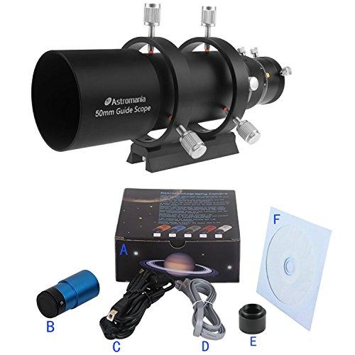 Astromania Camera Easy Autoguiding Set50 - The Key to Successful Planetary Photos