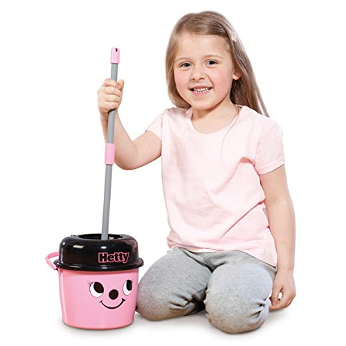 Casdon Henry Mop and Bucket Toy for Kids to Encourages Developing Social Skills