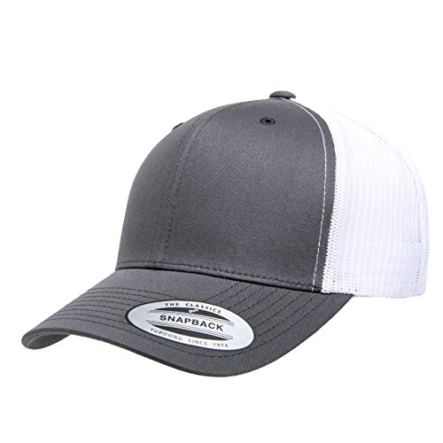 719026dfadc561 Yupoong Retro Trucker Hat & 2-Tone Snapback - 6606, by Flexfit ...