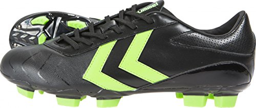 Hummel Rapid X Blade SMU Chaussures de Football Noir Black – Green Gecko, 38 (UK 5)
