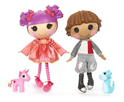 Lalaloopsy Dolls - Sir Battlescared And Lady Stillwaiting from MGA Entertainment