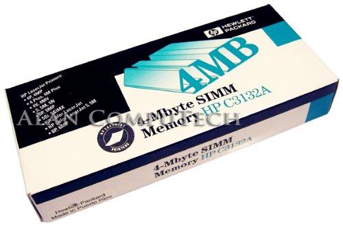 HP 4MB SIMM LaserJet Printer Memory (Hp Laserjet 4mp Printer)