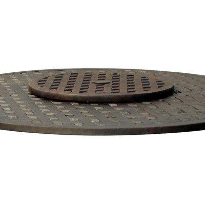 granite lazy susan turntable - 9