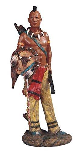StealStreet Native American Indian Warrior with Shield Statu