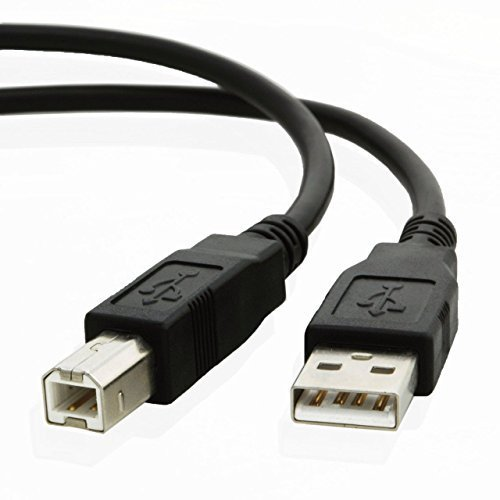 USB CABLE FOR HP OFFICEJET 5740 5742 5744 5745 6000 6105 6110 6100 6210 PRINTER