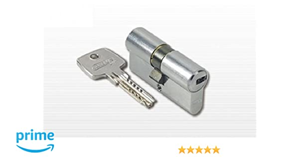 Abus D10 N 40//50 Eurocilindro con doble embrague llave de puntos niquel 5 K y T SKG