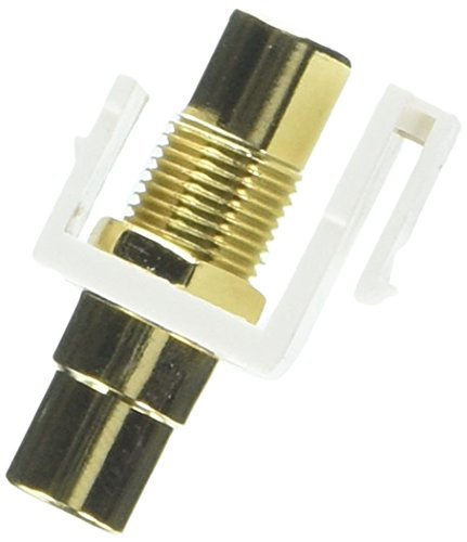 - Sterene 310-463WH-10 RCA Jack-To-Jack Keystone Insert