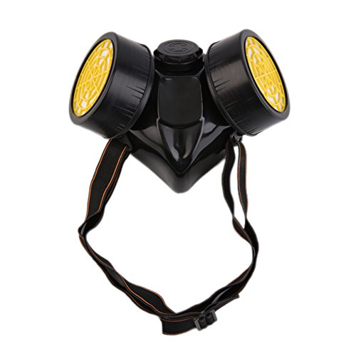 (Gas Respirator Mask For Chemical gas, Dual Anti-Dust Spray Paint, Pesticides, Protection Haze)