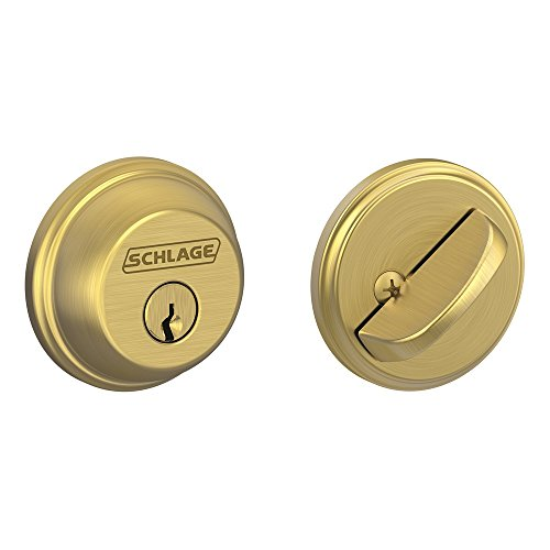 Single Cylinder Deadbolt, Satin Brass (B60 N 608)