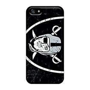 JasonPelletier Iphone 5/5s Shock Absorption Hard Phone Covers Allow Personal Design Lifelike Oakland Raiders Skin [ifb9575bofH] hjbrhga1544