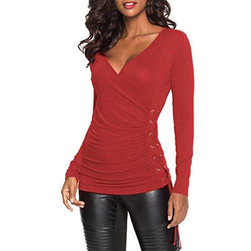 ... Verano Blusa Mujer Elegante Camisetas Mujer Fiesta Algodón Tops Mujer Fiesta Camisetas Sin Hombros Mujer Tops Mujer Fiesta: Amazon.es: Ropa y accesorios
