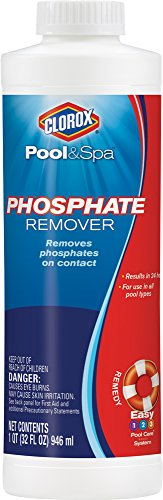 CLOROX Pool&Spa Phosphate Remover, 1-Quart 55032CLX (Best Phosphate Remover For Swimming Pools)