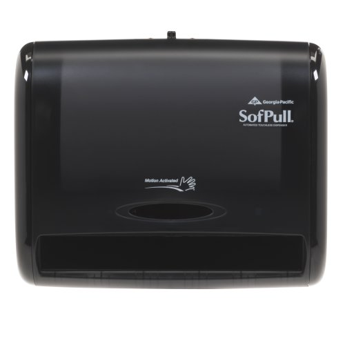 Price comparison product image Georgia Pacific Professional 58470 Automatic Towel Dispenser, 12 4/5 x 6 3/5 x 10 1/2, Translucent Smoke