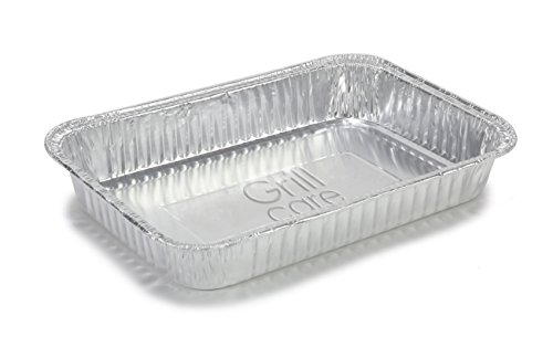 grill-care-16415-foil-drip-pans-compatible-with-weber-q-spirit-and-genesis-grills
