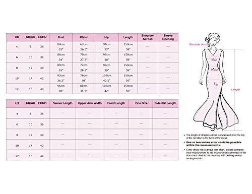 Ever-Pretty Womens Elegant Sleeveless Floor Length Mermaid Style Prom Dress 12 US Midnight Blue by Ever-Pretty (Image #3)