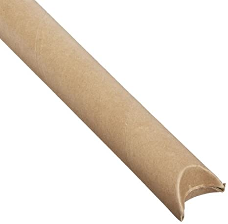 RetailSource Ltd RetailSource P3024GOx2 3 x 24 Gold Mailing tubes with Caps Pack of 2
